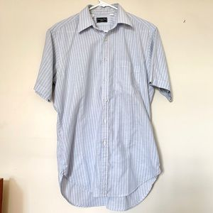 The Christian Dior Men's Short Sleeve Button Down